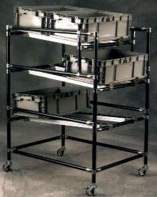 Material Handling Components eliminate static build-up.