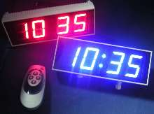 Numeric LED Display is suited for steam baths.
