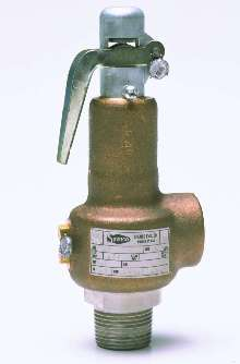 Safety Relief Valves handle pressures from 5-250 psi.