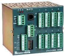 Din-Rail Mount 8 Loop Controller also acts as DAQ unit.