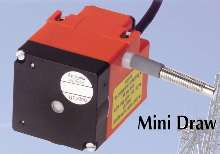 Draw Wire Encoders are suited for harsh environments.