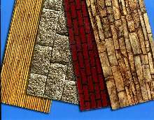 Architectural Panels replicate various textures and looks.
