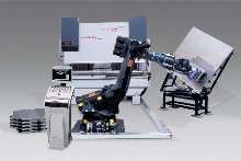 Robotic Press Brake Cell offers automatic part bending.