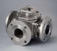 Ball Valves offer 3-way and 4-way flow control.
