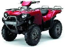 Sport-Utility ATV utilizes independent rear suspension.