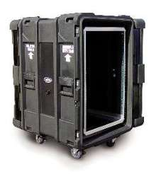 Rack Mount Cases feature 19 in. rack width per EIA standard.