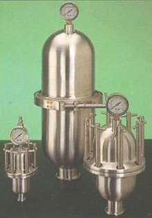 Sanitary Pulsation Dampeners suit biotech/food industries.