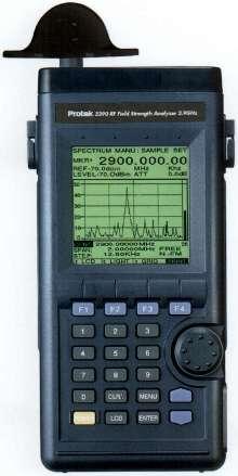 RF Signal Strength Analyzer has 2.9 GHz bandwidth.