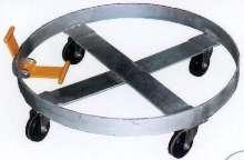 Drum Dolly incorporates tilt feature.