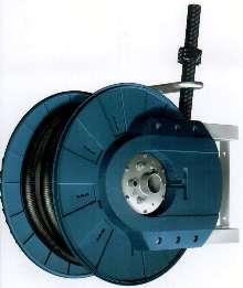 Vacuum Hose Reel offers heavy-duty design.