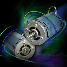 Induction Motor offers variable speed from 550-4,400 rpm.