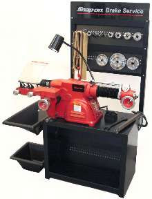 Combination Brake Lathe services vehicles up to 1 ton.