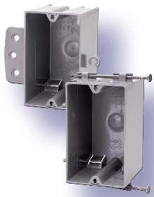 Nonmetallic Switchboxes facilitate installation.