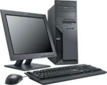 Desktop Computer includes software to protect data.