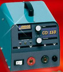 Stud Welder makes welds without reverse side marring.