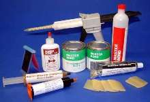 Room Temperature Curing Epoxy withstands sterilization.