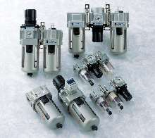 FRL offers precise pressure control.