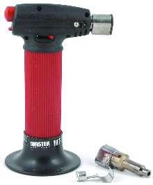 Dual-Purpose Torch offers flameless heat-gun mode.