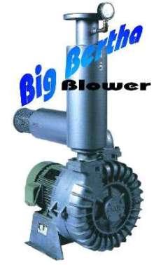 Regenerative Blower delivers 1,550 scfm and 8.5 psi.