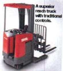 Electric Reach Trucks offer 3,000-4,500 lb capacity.