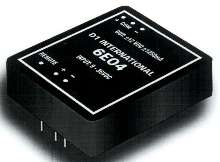 DC/DC Converter features isolated output.
