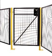 Metal Guard secures areas with automated equipment.