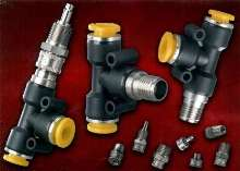 Push-to-Connect Fittings produce no circuit interruption.
