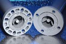 Flange suits static mixer applications.