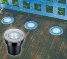 Recessed LED Lighting is water resistant and durable.