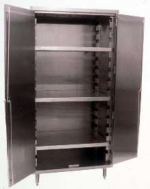 Vertical Storage Cabinets provide dust-free protection.