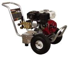 Cold Water Pressure Washers feature aluminum frame.
