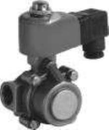 Diaphragm Control Valves are solenoid operated.