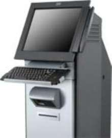 Kiosks allow user to run self-service applications.