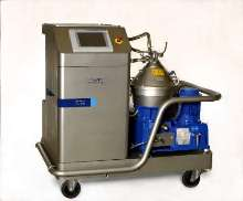 Separation System cleans and recycles metalworking coolants.