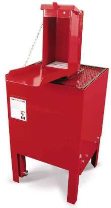 Oil Filter Crushers are air-powered and workplace-safe.
