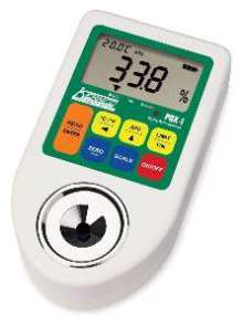 Digital Refractometers offer 0.1% resolution and accuracy.