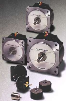 Stepper Motors are optimized for low moment of inertia.