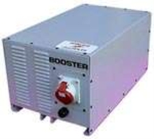 Converter provides 3-phase power from single phase source.