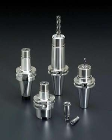 Collet System operates up to 40,000 rpm.