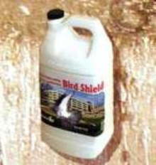 Bird Repellent uses odor to reduce nesting and roosting.