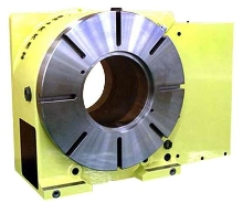 Rotary Table has 205 mm bore.