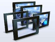 Touch Screens use invisible infrared light as touch sensor.