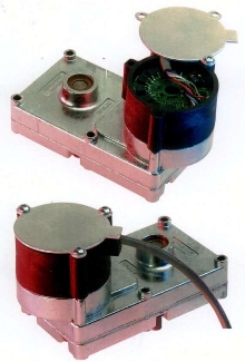 DC Powered Gear Motor uses brushless technology.