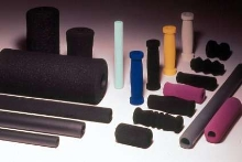 Foam Material provides hand grip options.