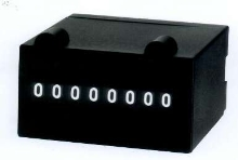 Electric Counter features 8-digit display.