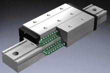 LM Guides and Ball Screws utilize caged ball technology.