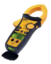Clamp Meters safely measure high-voltage systems.