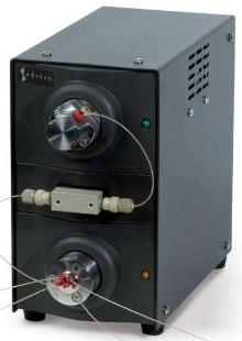 Nano Fluidic Module suits low flow fluid applications.