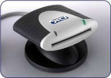 Smart Card Reader features dual interface.