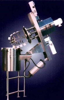 Mixer/Agitator employs triple concentric shaft design.
